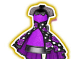 Purple Rose Dot Coord