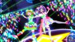Laala&Mirei new pose