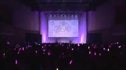 PriPara-プリパラ first live 「 Thanks you birthday 」 -Manaka Laala -真中らあら ( Akaneya Himika I★Ris )