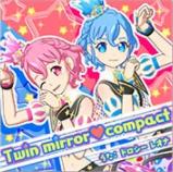 Twin Mirror Compact