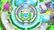 Pripara world shown at opening