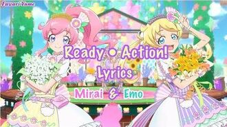 Kiratto Pri☆Chan - Ready・Action! Full Lyrics