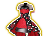 Red Rose Dot Coord
