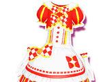 Striped Seven-Eleven Color Maid Coord