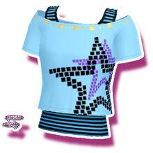 Big Blue Star Sky T-Shirt