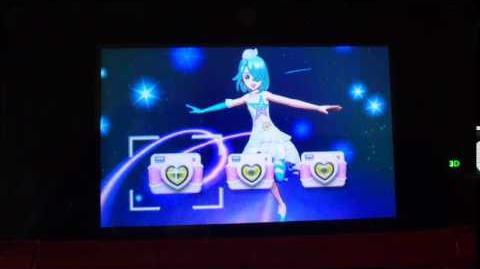 07 Pripara 3DS GrandPrix Making Drama Neon Lights Roulette Cosmo Version