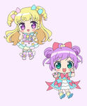 Yui and Laala Chibi