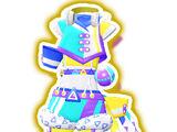 Neon Drop Blue Cyalume Coord
