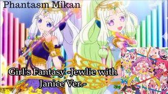 Pripara Girl's Fantasy -Jewlie with Janice Ver.- Music Collection Season 3