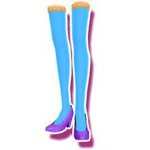 Vivid Star Purple Schuhe