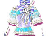 Ice Fairy Tale Clock Coord