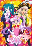 Yande.re 375088 dress halloween hara shoji manaka non pantyhose pripara taiyou pepper tsukikawa chiri weapon