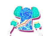 Peppermint Flower Coord
