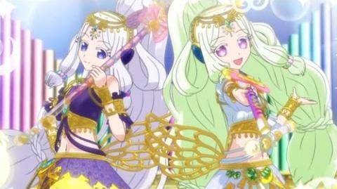 HD Pripara - プリパラ 138 - Girl's Fantasy - Goddess Vs Solami Smile