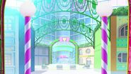 The enterance of pripara world
