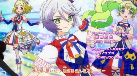 (HD) PriPara - プリパラ - OPENING 8 - ☆Brand New Dreamer☆ - Ver. 3 (Laala & Pinon) --0