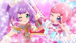 Mirai and Laala Kiratto and Team Super Cyalume Coords CGI