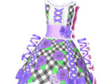 Violet Country Gingham Coord
