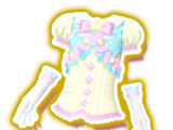 Dreamy-cute Rainbow Yui Coord