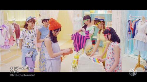 I☆Ris MV「ドリームパレード」