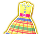 Colorful Retro Yellow Coord