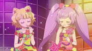 Laala and Mirei at audition use lipstic