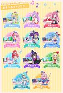 PriPara 3DS Characters