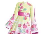 Soft Milky Kimono Coord