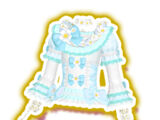 Light Blue Floral Coord