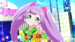 Laala in a new stage & use a new twinkle ribbon coord