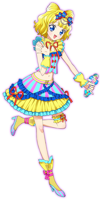 Mirei in ihrem Unit-Dress