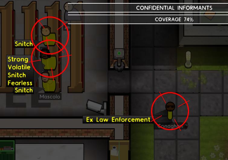 Confidential Informants | Prison Architect Wiki | FANDOM