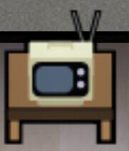 TV klein
