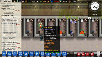 Confidential Informants | Prison Architect Wiki | FANDOM