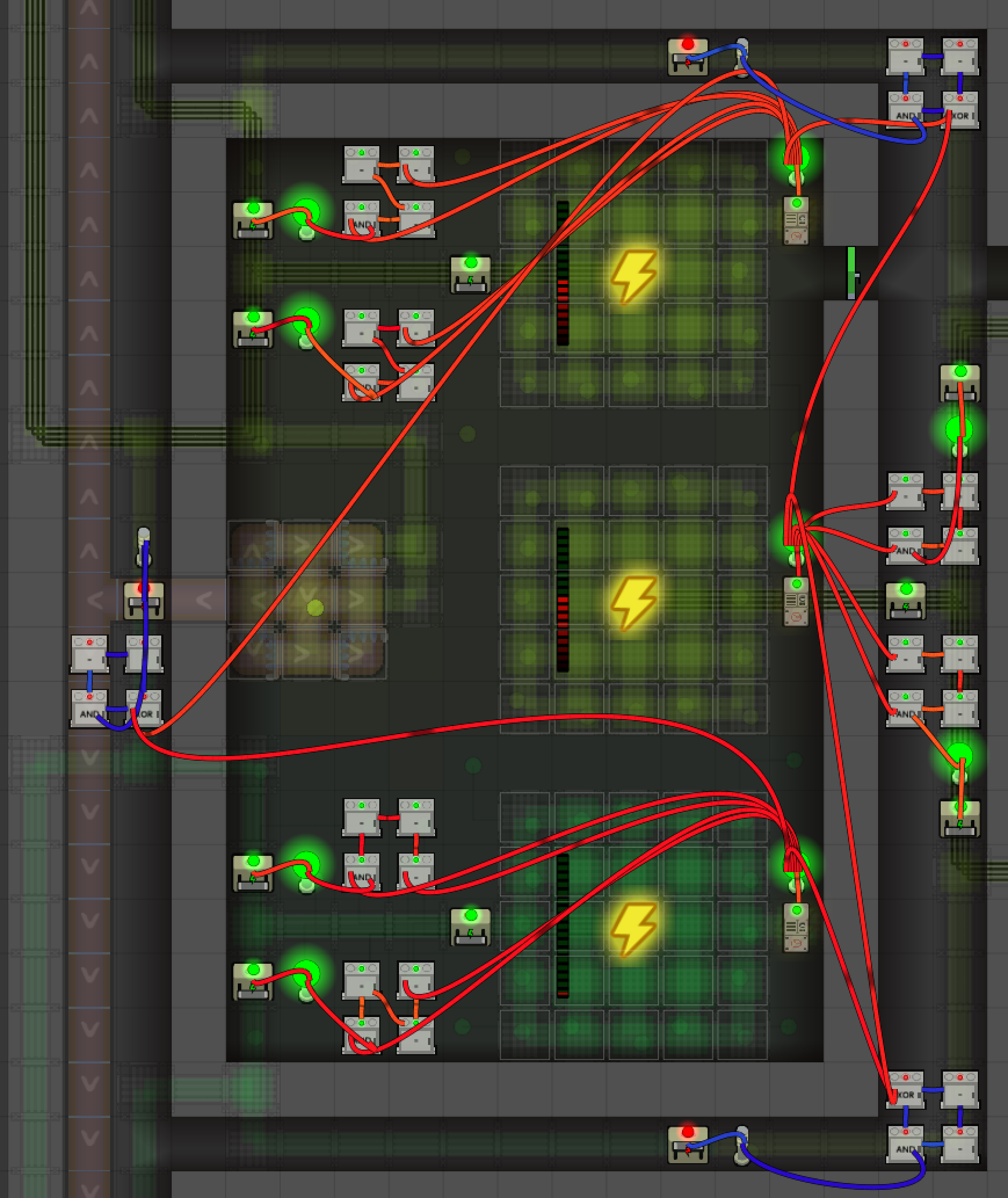 intermediate logic circuits prison architect wiki fandom poweredin this setup, when a power generator fails, the other two generators will each take over one network from the failed generator