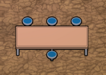Besuchertisch (Visitor Table)