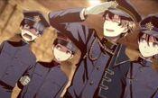 Nagi raging at Mitsuru