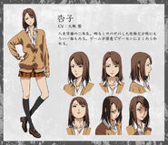 Anzu anime design