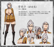 Meiko anime design