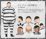 Andre anime design