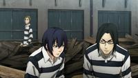 Shingo eavesdrops in waste disposal
