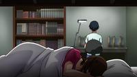 Chiyo depressed dorm room