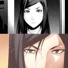 Mari's eye shapes
