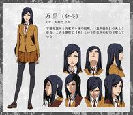 Mari anime design