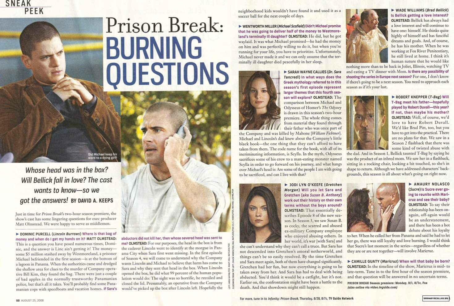 Burning Series Prison Break 5
