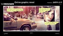The Prisoner (2009 comic) interface
