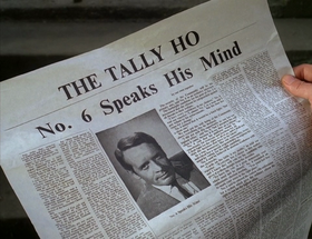 The Tally Ho - No 6 speaks his mind