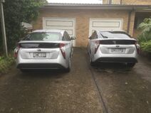 Prius XW50 Times Two