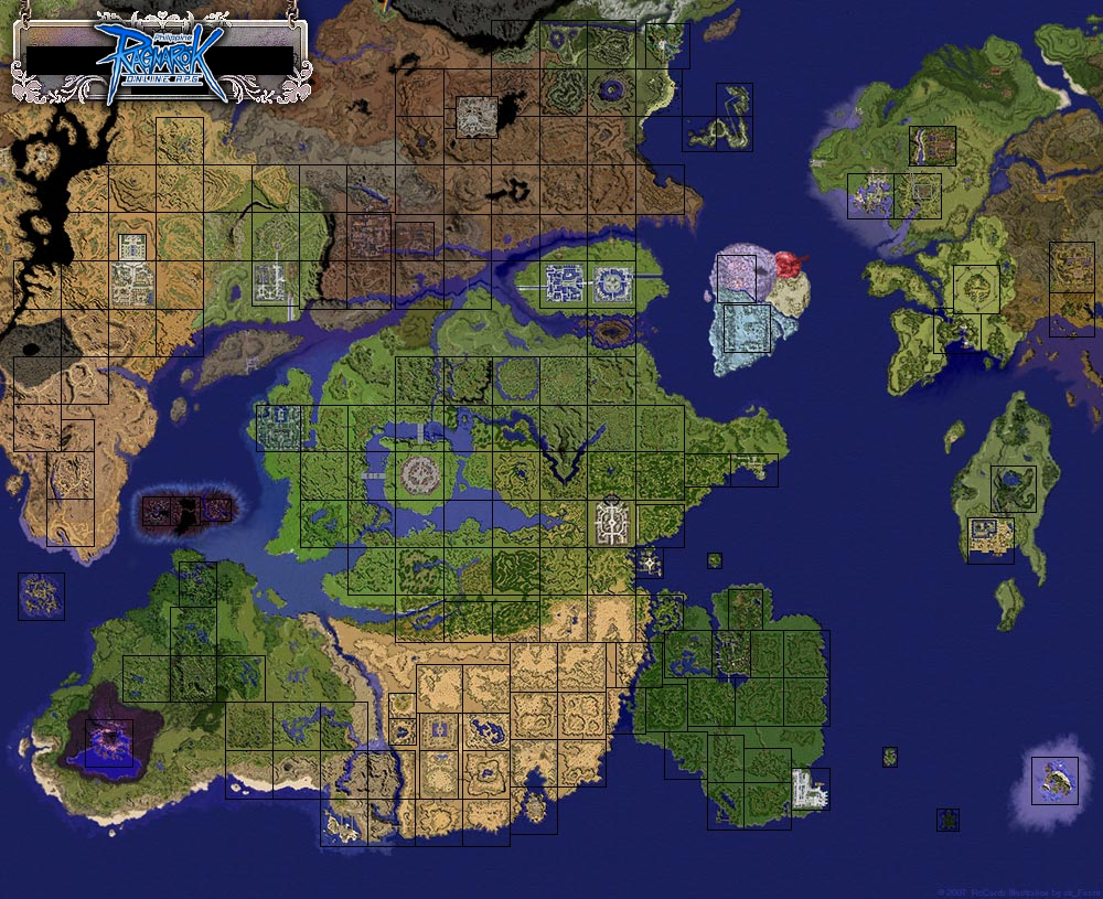 Cities towns and places philippine ragnarok online wiki fandom world map gumiabroncs Gallery