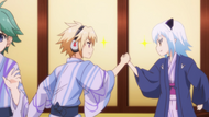 E07 Izayoi and Shiroyasha's Mutual Respect